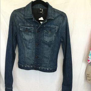 7 for all mankind size small Jean jacket